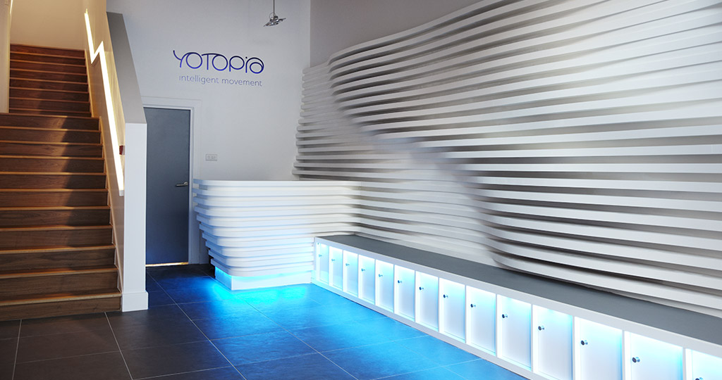 Hot Yoga Studio called Yotopia